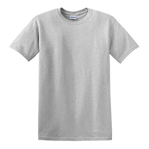 Custom Printed Gildan 5000 Heavy Cotton Unisex T-shirt - 6 - Front View | ThatShirt
