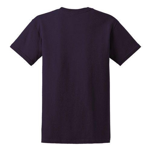 Custom Printed Gildan 5000 Heavy Cotton Unisex T-shirt - 10 - Back View | ThatShirt