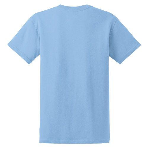 Custom Printed Gildan 5000 Heavy Cotton Unisex T-shirt - 13 - Back View | ThatShirt