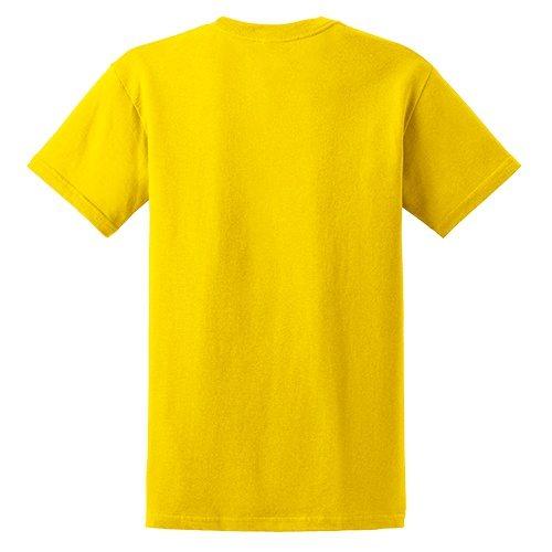 Custom Printed Gildan 5000 Heavy Cotton Unisex T-shirt - 0 - Back View | ThatShirt