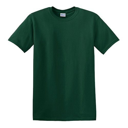 Custom Printed Gildan 5000 Heavy Cotton Unisex T-shirt - 21 - Front View | ThatShirt