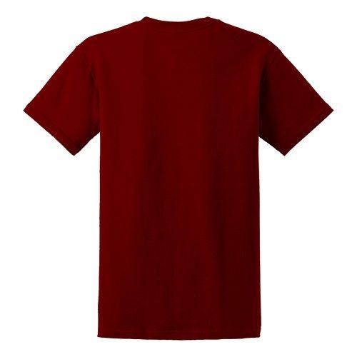Custom Printed Gildan 5000 Heavy Cotton Unisex T-shirt - 22 - Back View | ThatShirt