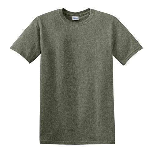 Custom Printed Gildan 5000 Heavy Cotton Unisex T-shirt - Front View | ThatShirt