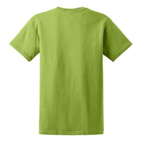 Custom Printed Gildan 5000 Heavy Cotton Unisex T-shirt - 32 - Back View   ThatShirt