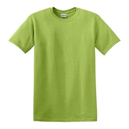 Custom Printed Gildan 5000 Heavy Cotton Unisex T-shirt - Front View   ThatShirt