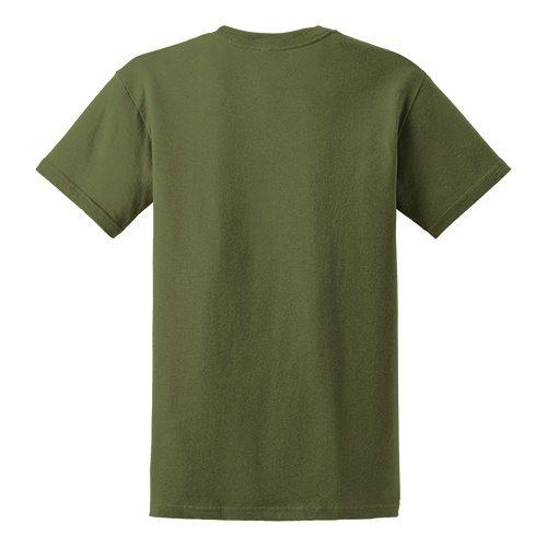 Custom Printed Gildan 5000 Heavy Cotton Unisex T-shirt - 39 - Back View | ThatShirt