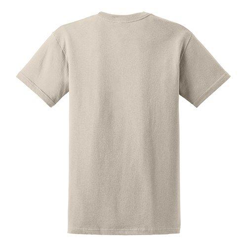 Custom Printed Gildan 5000 Heavy Cotton Unisex T-shirt - 41 - Back View | ThatShirt