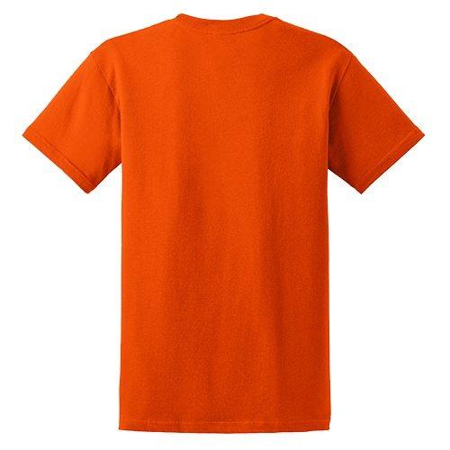 Custom Printed Gildan 5000 Heavy Cotton Unisex T-shirt - 46 - Back View | ThatShirt
