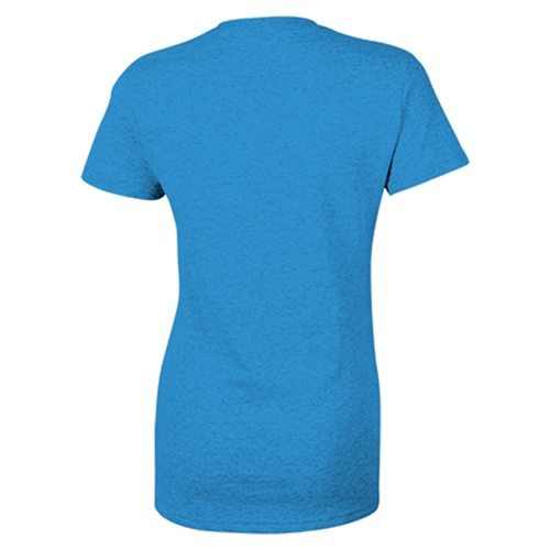 Custom Printed Gildan 5000L Ladies' Heavy Cotton Missy Fit T-Shirt - 10 - Back View | ThatShirt