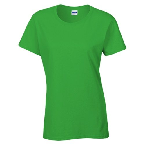 Custom Printed Gildan 5000L Ladies' Heavy Cotton Missy Fit T-Shirt - 12 - Front View | ThatShirt