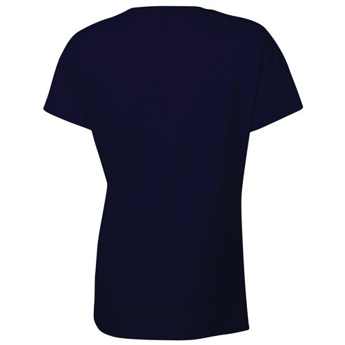 Custom Printed Gildan 5000L Ladies' Heavy Cotton Missy Fit T-Shirt - 15 - Back View | ThatShirt