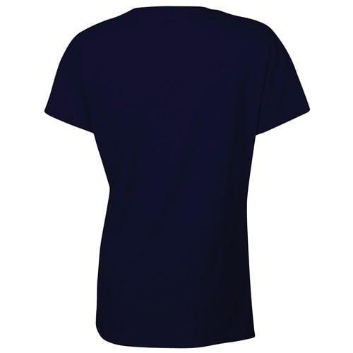 Custom Printed Gildan 5000L Ladies' Heavy Cotton Missy Fit T-Shirt - 15 - Back View   ThatShirt