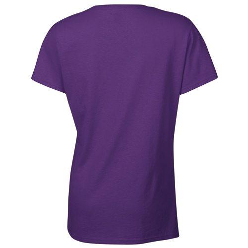 Custom Printed Gildan 5000L Ladies' Heavy Cotton Missy Fit T-Shirt - 17 - Back View | ThatShirt