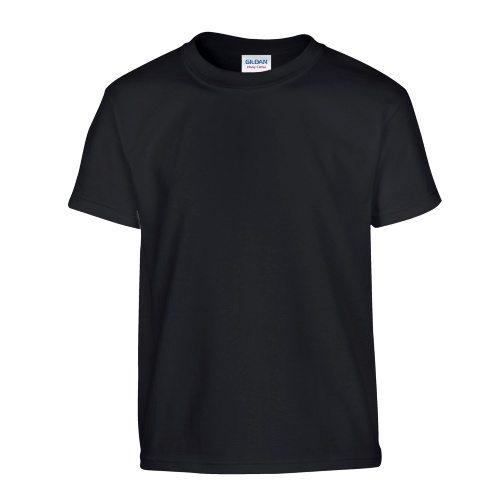 Custom Printed Gildan 500B Heavy Cotton Youth T-Shirt - Front View | ThatShirt