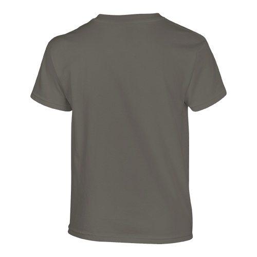 Custom Printed Gildan 500B Heavy Cotton Youth T-Shirt - 6 - Back View | ThatShirt