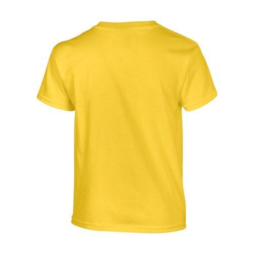 Custom Printed Gildan 500B Heavy Cotton Youth T-Shirt - 9 - Back View | ThatShirt