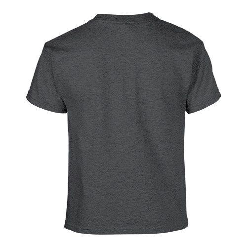 Custom Printed Gildan 500B Heavy Cotton Youth T-Shirt - 11 - Back View | ThatShirt