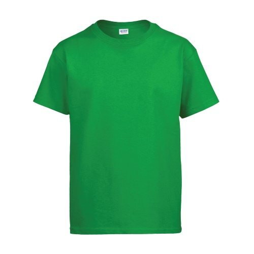 Custom Printed Gildan 500B Heavy Cotton Youth T-Shirt - Front View | ThatShirt