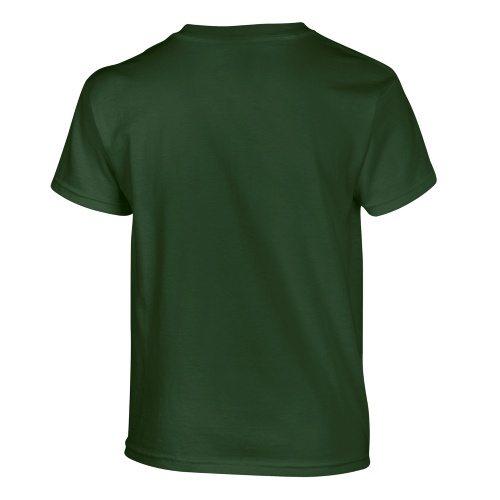 Custom Printed Gildan 500B Heavy Cotton Youth T-Shirt - 13 - Back View   ThatShirt