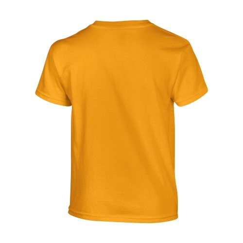 Custom Printed Gildan 500B Heavy Cotton Youth T-Shirt - 15 - Back View | ThatShirt