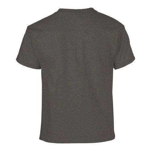 Custom Printed Gildan 500B Heavy Cotton Youth T-Shirt - 16 - Back View | ThatShirt
