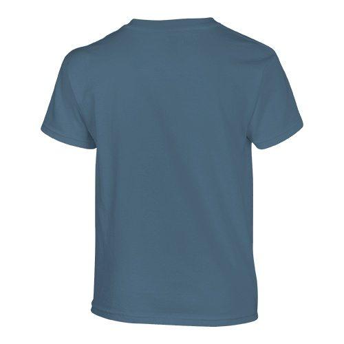 Custom Printed Gildan 500B Heavy Cotton Youth T-Shirt - 18 - Back View | ThatShirt