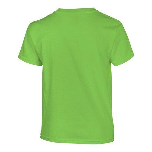 Custom Printed Gildan 500B Heavy Cotton Youth T-Shirt - 23 - Back View | ThatShirt