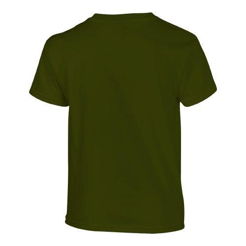Custom Printed Gildan 500B Heavy Cotton Youth T-Shirt - 25 - Back View | ThatShirt