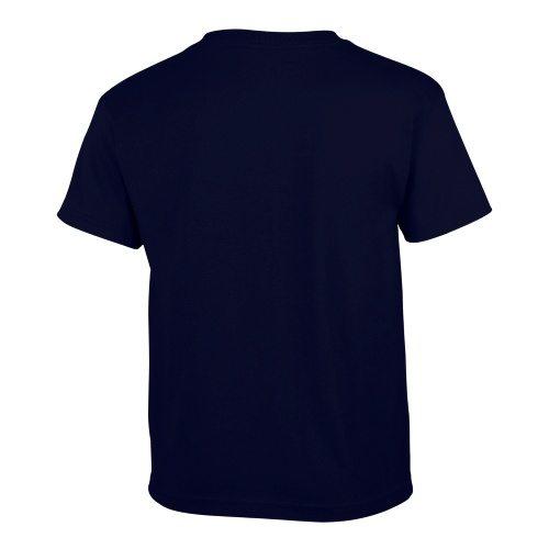 Custom Printed Gildan 500B Heavy Cotton Youth T-Shirt - 27 - Back View   ThatShirt