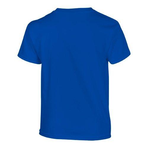 Custom Printed Gildan 500B Heavy Cotton Youth T-Shirt - 28 - Back View | ThatShirt