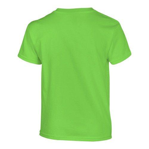 Custom Printed Gildan 500B Heavy Cotton Youth T-Shirt - 29 - Back View | ThatShirt