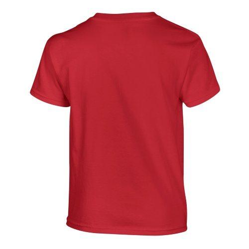 Custom Printed Gildan 500B Heavy Cotton Youth T-Shirt - 33 - Back View | ThatShirt
