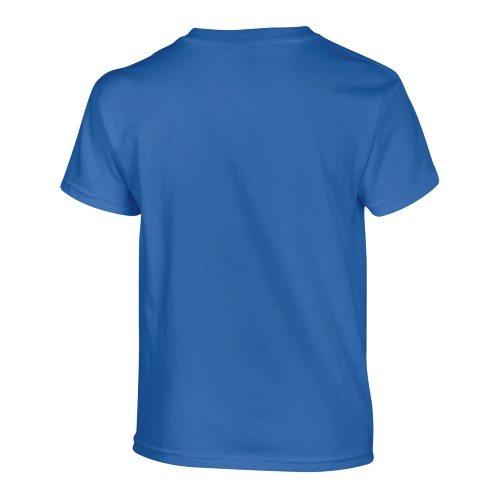 Custom Printed Gildan 500B Heavy Cotton Youth T-Shirt - 34 - Back View   ThatShirt