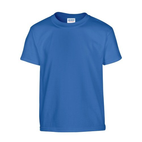 Custom Printed Gildan 500B Heavy Cotton Youth T-Shirt - Front View   ThatShirt