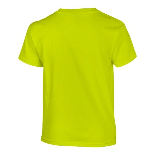 Custom Printed Gildan 500B Heavy Cotton Youth T-Shirt - 35 - Back View   ThatShirt