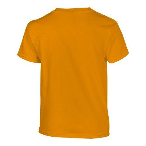 Custom Printed Gildan 500B Heavy Cotton Youth T-Shirt - 42 - Back View | ThatShirt