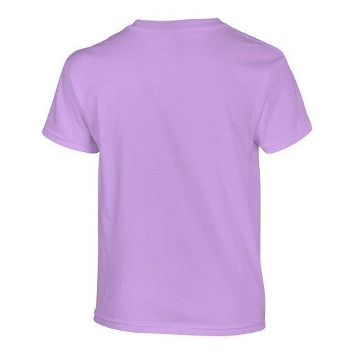 Custom Printed Gildan 500B Heavy Cotton Youth T-Shirt - 45 - Back View | ThatShirt