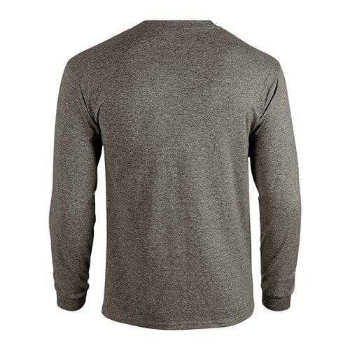 Custom Printed Gildan 5400 Heavy Cotton Long-Sleeve T-Shirt - 8 - Back View | ThatShirt