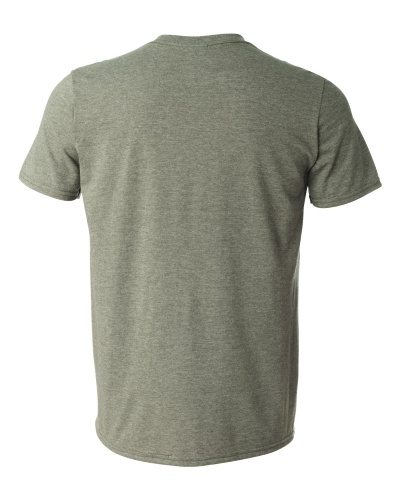 Custom Printed Gildan 6400 / 64000 SoftStyle Ring Spun T-Shirt - 8 - Back View | ThatShirt