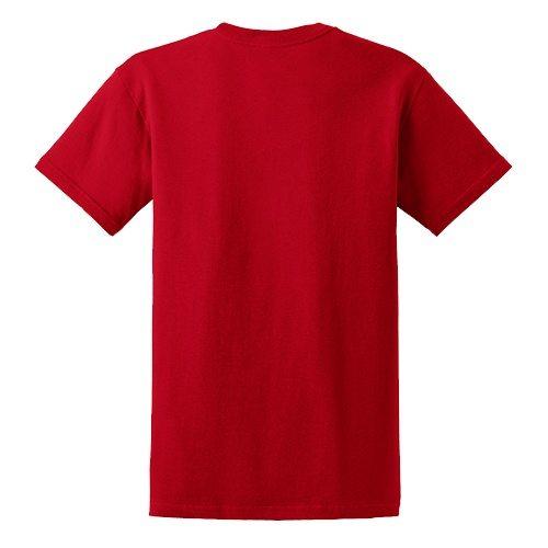 Custom Printed Gildan 6400 / 64000 SoftStyle Ring Spun T-Shirt - 20 - Back View | ThatShirt