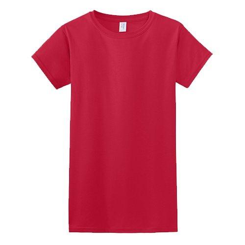 Custom Printed Gildan 6400 / 64000 SoftStyle Ring Spun T-Shirt - Front View | ThatShirt