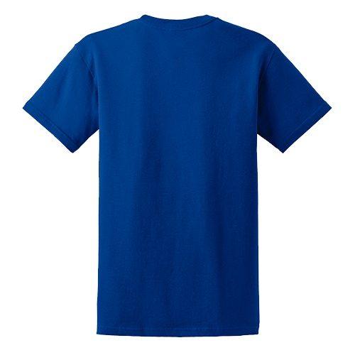 Custom Printed Gildan 6400 / 64000 SoftStyle Ring Spun T-Shirt - 21 - Back View | ThatShirt