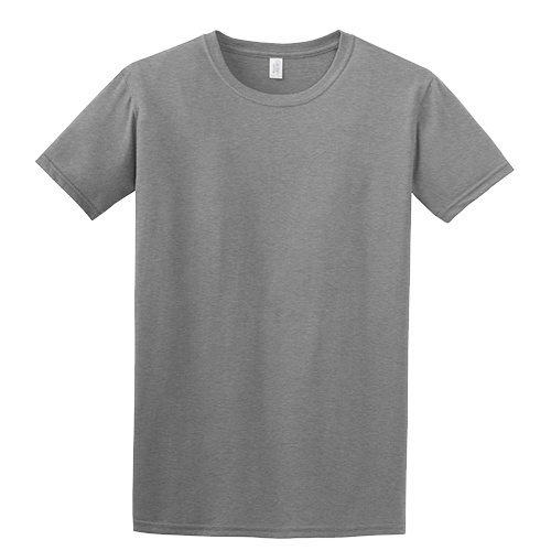 Custom Printed Gildan 6400 / 64000 SoftStyle Ring Spun T-Shirt - Front View | ThatShirt