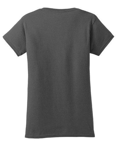 Custom Printed Gildan 640L Ladies SoftStyle Junior Fit T-Shirt - 4 - Back View | ThatShirt