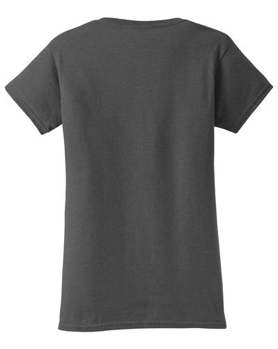 Custom Printed Gildan 640L Ladies SoftStyle Junior Fit T-Shirt - 0 - Back View | ThatShirt