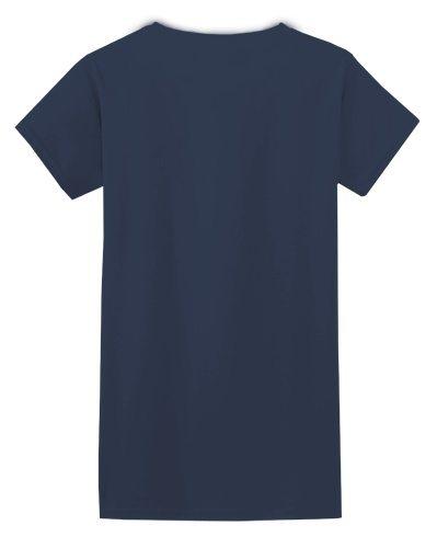 Custom Printed Gildan 640L Ladies SoftStyle Junior Fit T-Shirt - 6 - Back View | ThatShirt