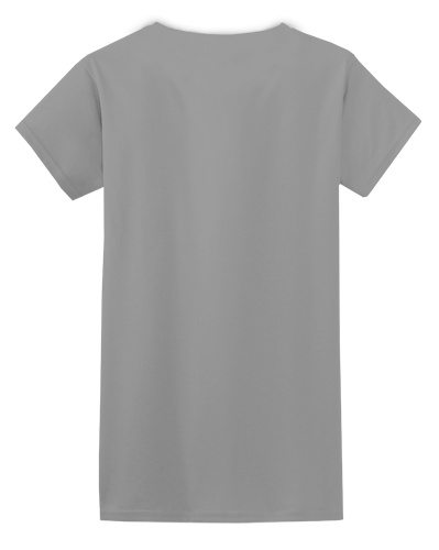 Custom Printed Gildan 640L Ladies SoftStyle Junior Fit T-Shirt - 9 - Back View | ThatShirt