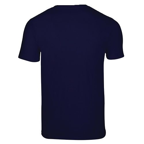 Custom Printed Gildan 64V00 Soft Style V-Neck T-Shirt - 4 - Back View | ThatShirt