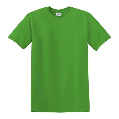 Custom Printed Gildan 8000 Dry Blend 50–50 T-Shirt - Front View | ThatShirt