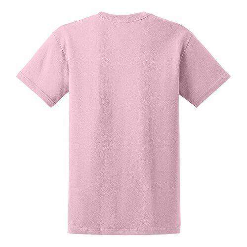 Custom Printed Gildan 8000 Dry Blend 50–50 T-Shirt - 16 - Back View | ThatShirt